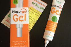 Gel trị mụn Nacurgo giúp loại bỏ mụn đầu đen hiệu quả