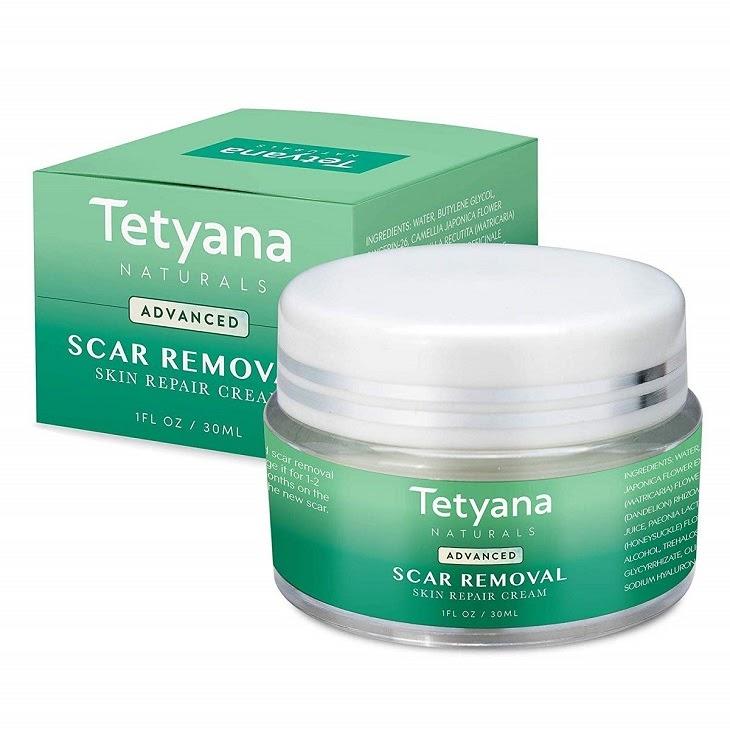 Tetyana Advanced Scar Removal giúp chữa rạn da và một số vấn đề ngoài da