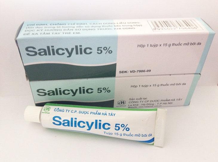 Acid Salicylic là thuốc bôi kháng viêm chữa vảy nến tốt