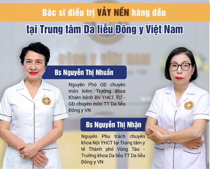 An Bì Thang trị vảy nến được bác sĩ Nguyễn Thị Nhuần và Nguyễn Thị Nhặn nghiên cứu, bào chế