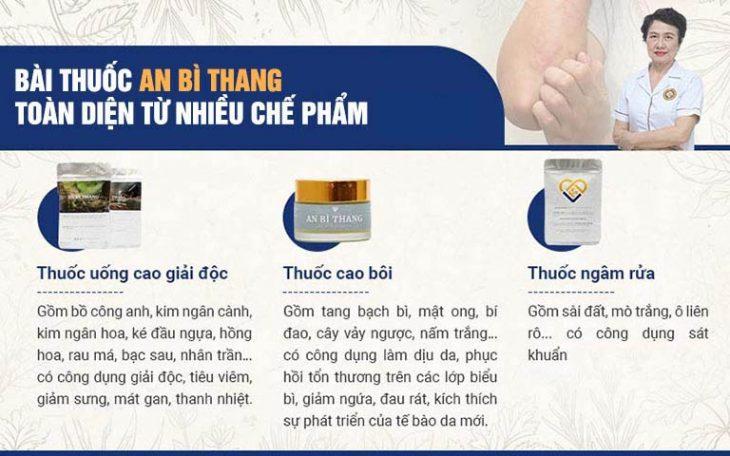 An Bì Thang là kết quả nghiên cứu của bác sĩ Nguyễn Thị Nhuần và cộng sự