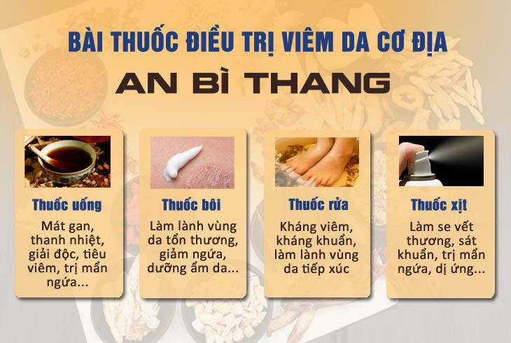 Bài thuốc An Bì Thang chữa viêm da cơ địa