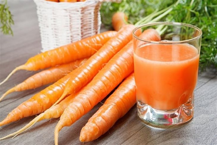 Cà rốt không chỉ trị mụn mà còn làm sáng đẹp da