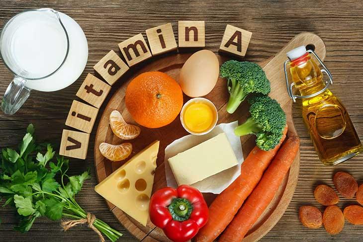 Thực phẩm giàu vitamin A rất tốt cho sức khỏe