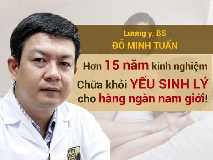 Bác sĩ Đỗ Minh Tuấn nhiều năm công tác trong nghề