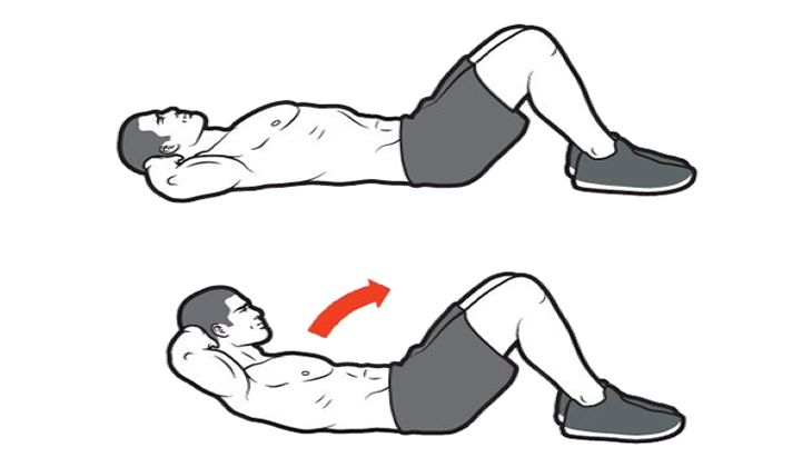 Bài tập chữa yếu sinh lý bằng cách gập bụng