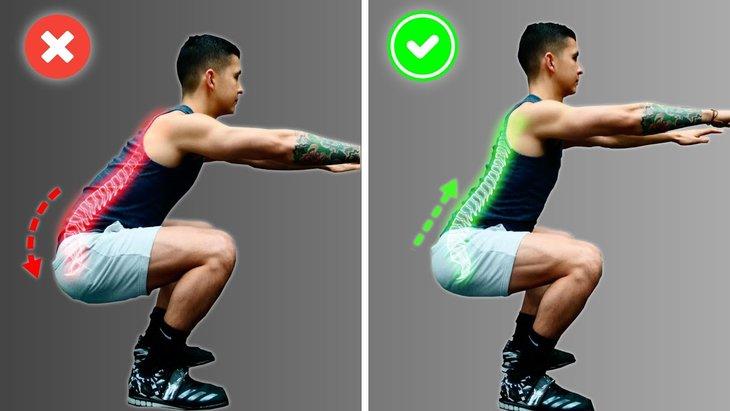 Cách Squat đúng để khắc phục tình trạng yếu sinh lý hiệu quả