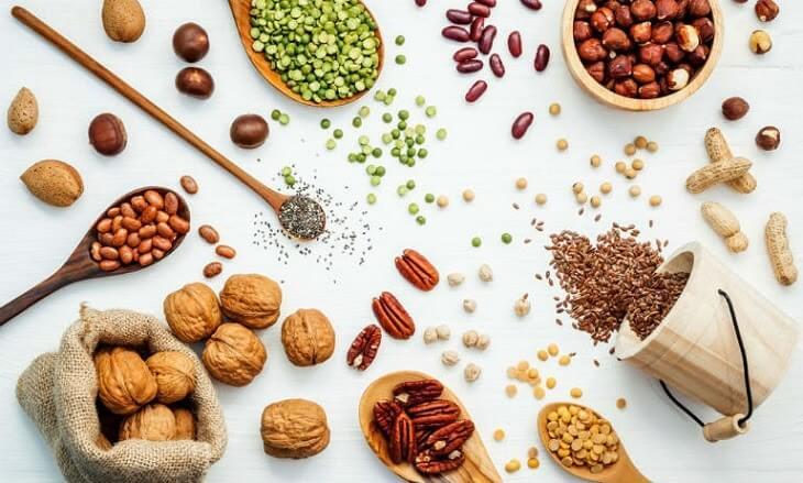 Các loại thực phẩm chứa vitamin nhóm B giúp da khỏe mạnh, mềm mại
