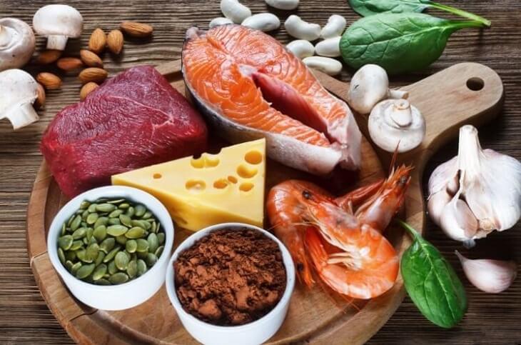 Bị thâm mụn nên ăn thực phẩm chữa kẽm