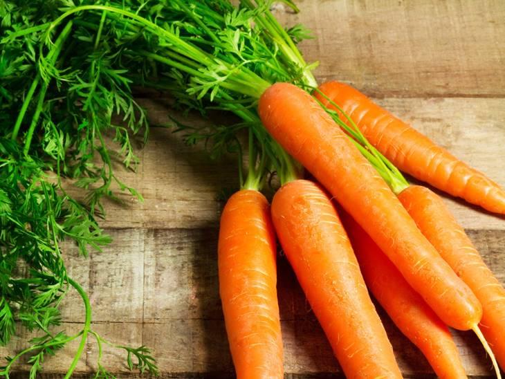 Cà rốt hỗ trợ việc điều trị viêm nhiễm mụn bọc rất tốt