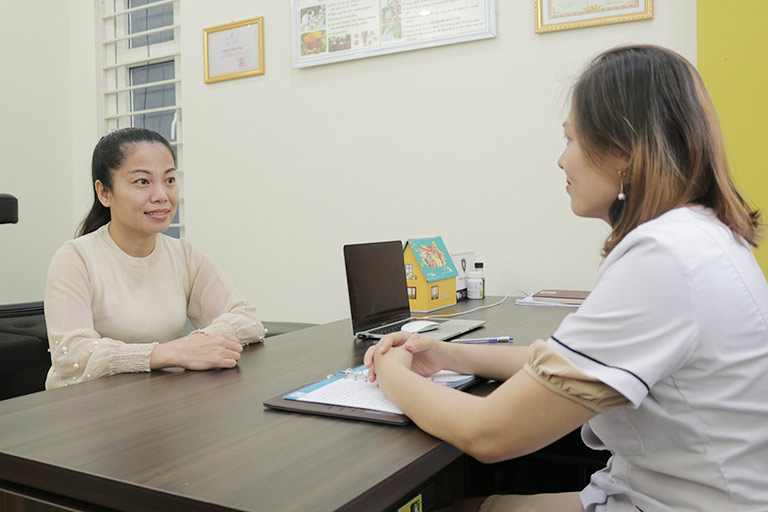 Chị Nguyễn Thị Vân Anh cải thiện triệu chứng tiền mãn kinh sau 2 tháng điều trị