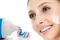 Cách trị mụn chai bằng kem đánh răng