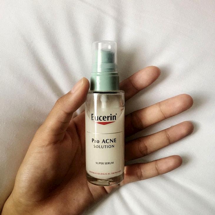 Eucerin ProAcne Super là một trong những sản phẩm trị mụn bán chạy nhất 2020