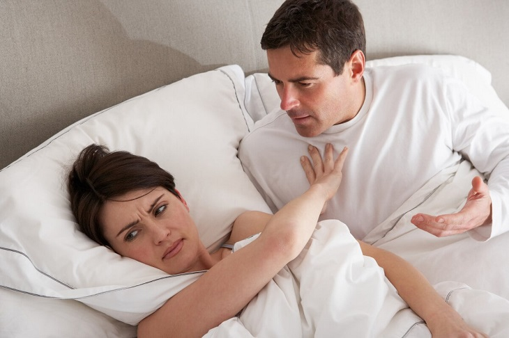 Dấu hiệu nhận biết chồng xuất tinh sớm