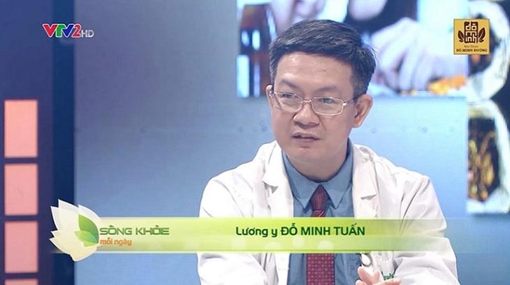 Lương y Đỗ Minh Tuấn từng là cố vấn trên Sống khỏe mỗi ngày - VTV2