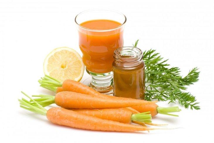 Sinh tố cà rốt và mật ong giúp cải thiện tình trạng xuất tinh sớm và sức khỏe sinh lý nam