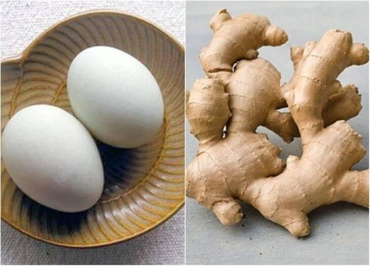 Mẹo chữa xuất tinh sớm bằng trứng gà và gừng tươi giúp nam giới sớm lấy lại bản lĩnh đàn ông