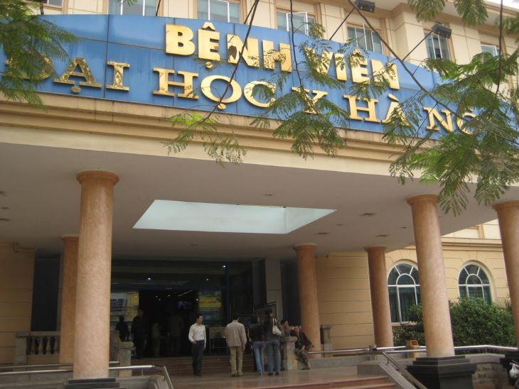 Bệnh viện đại học y Hà Nội là bệnh viện lớn và nổi tiếng nhất nhì Hà Nội