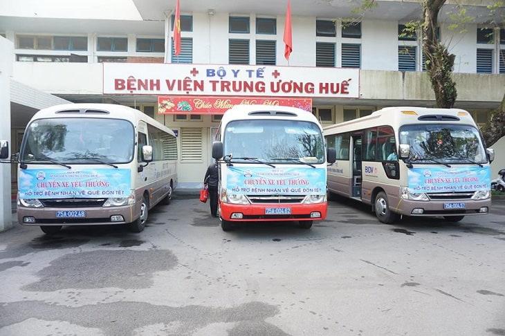 Bệnh viện trung ương Huế là một trong những địa chỉ khám chữa uy tín của người dân các tỉnh miền trung