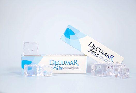 Gel trị mụn ẩn Decumar Pure dành cho da dầu