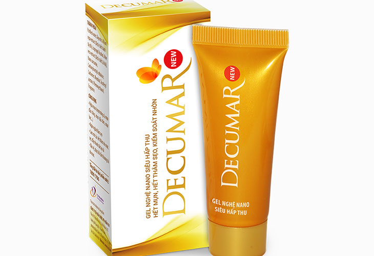 Gel trị mụn ẩn Decumar New chứa nhiều dưỡng chất