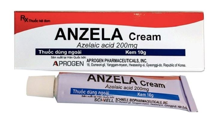 Hình ảnh kem trị mụn Anzela
