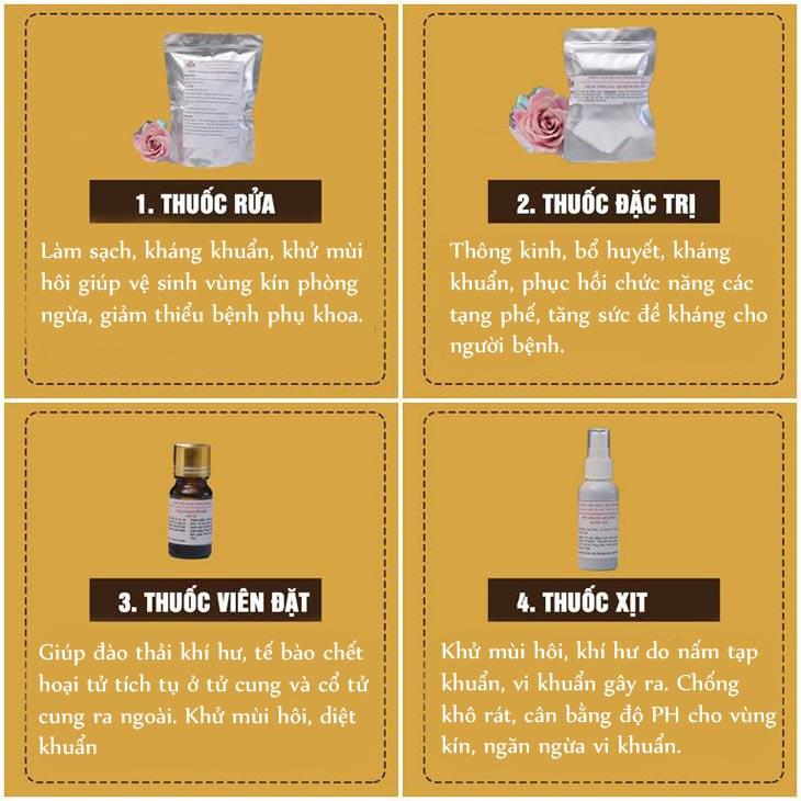 Tác dụng bài thuốc Phụ Khang Đỗ Minh