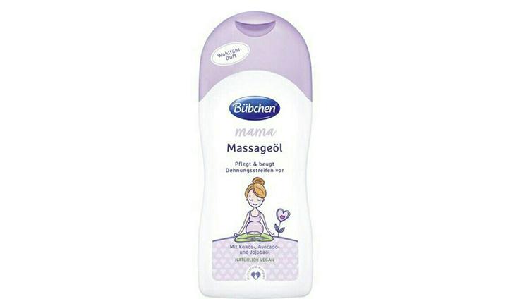 Dầu massage chống rạn da Bubchen có giá thành phải chăng