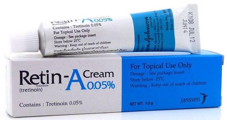 Thuốc trị mụn mủ Retinoin A thể hiện hiệu quả trị mụn vượt trội