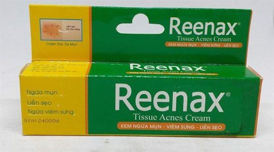 Hình ảnh kem trị mụn Reenax