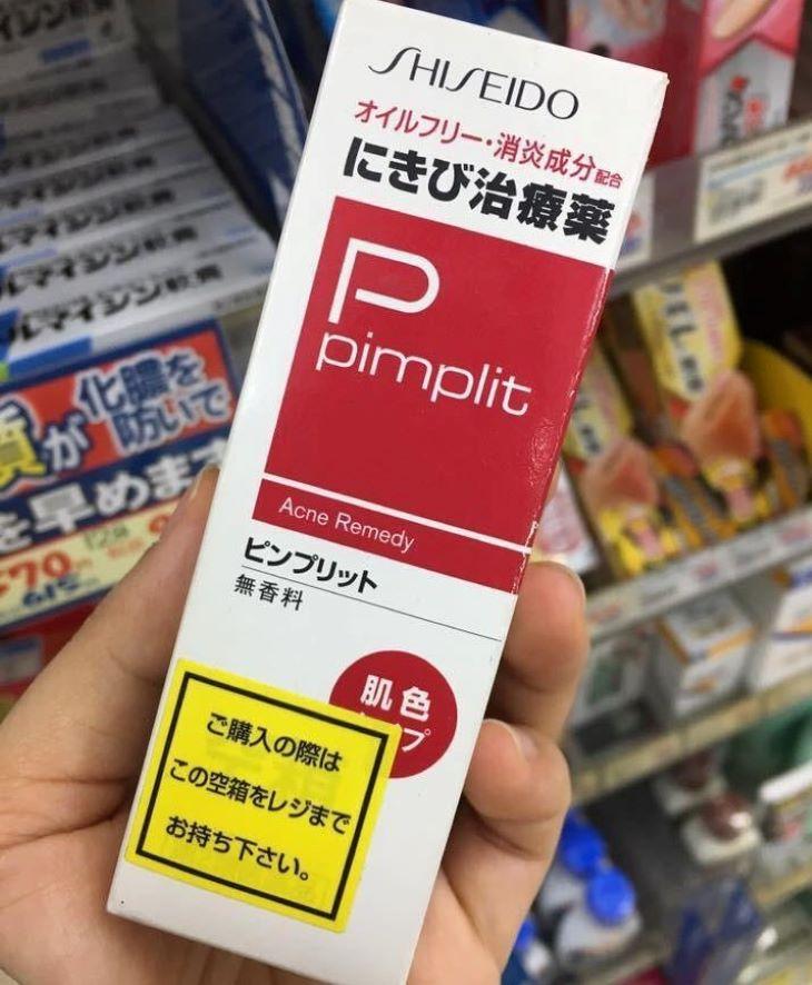 Thuốc trị mụn mủ Shiseido Pimplit luôn nằm trong lựa chọn hàng đầu của những người muốn điều trị mụn