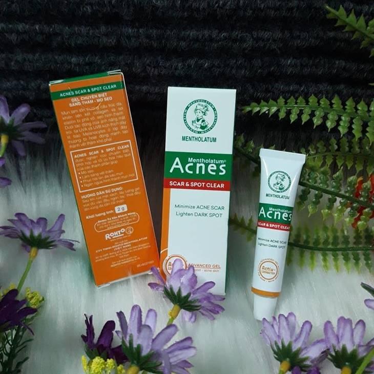 Thuốc trị mụn mủ Acnes Scar Care hỗ trợ điều trị mụn cực kỳ hiệu quả