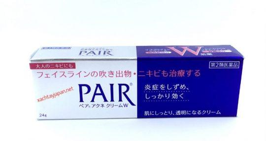 Kem trị mụn thâm của Nhật Pair Acne W Cream