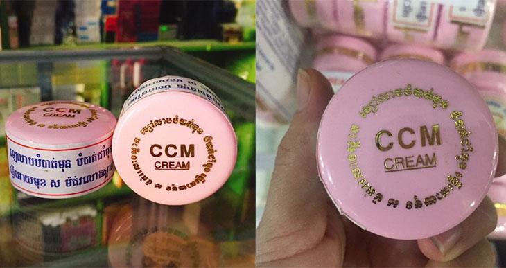 CCM là kem trị nám tàn nhang của Thái Lan có thương hiệu lâu đời