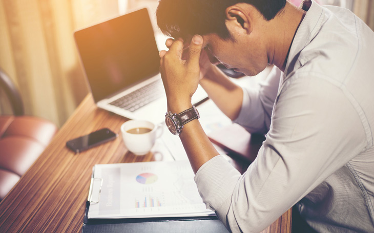 Căng thẳng, áp lực kéo dài cũng là một trong những nguyên nhân gây liệt dương