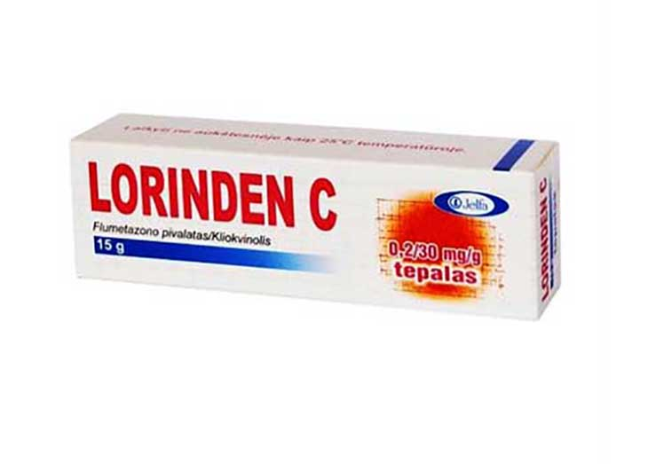 Lorinden C 15g dùng để bôi lên các vùng da bị vảy nến dài ngày
