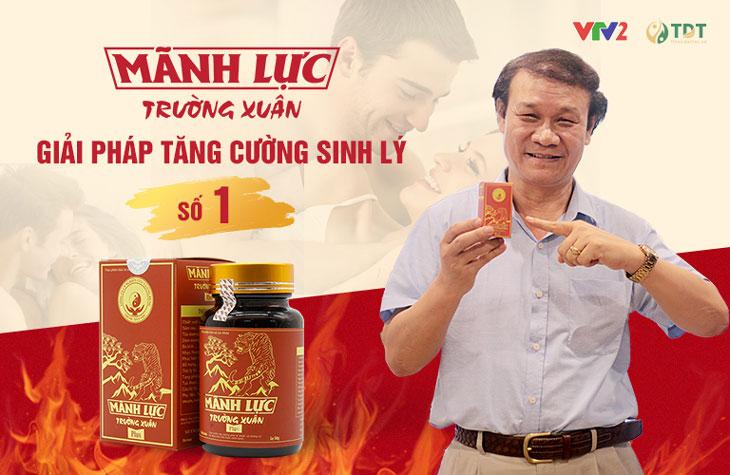 Diễn viên Nguyễn Hải vai 'Ông Cấn' phim Quỳnh Búp Bê đã sử dụng trọn bộ Mãnh lực trường xuân khắc phục chứng yếu sinh lý, mãn dục nam