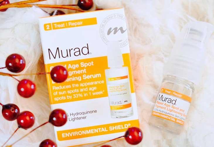 Murad Rapid Age Spot and Pigment Lightening serum trị thâm đỏ sau mụn hiệu quả