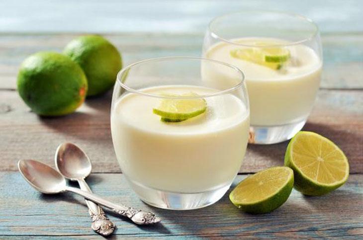 Mặt nạ nước cốt chanh và sữa tươi giúp trị nám da sau sinh hiệu quả