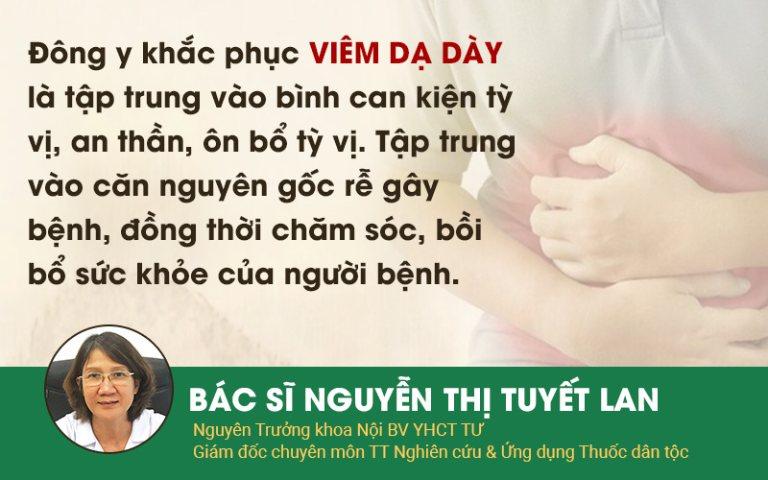 Nguyên lý điều trị bệnh viêm, viêm loét dạ dày hiệu quả theo YHCT