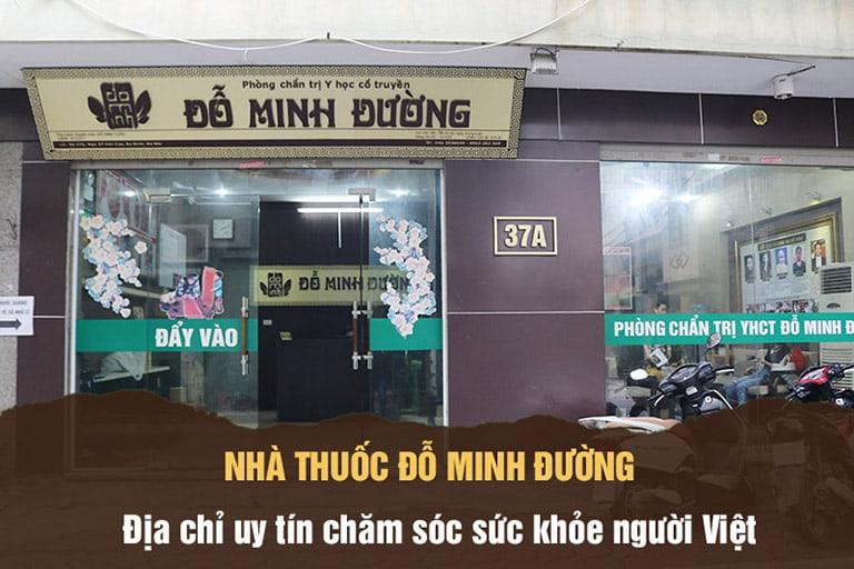 Nhà thuốc Nam Đỗ Minh Đường - Địa chỉ uy tín khám bệnh cho người Việt