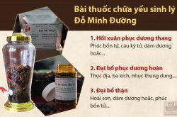 nha thuoc do minh duong chua yeu sinh ly bang bai thuoc