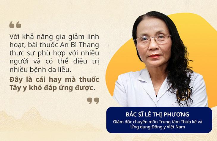 Đánh giá của bác sĩ Lê Phương - Nguyên Phó Giám đốc Bệnh viện Y học cổ truyền Hà Đông