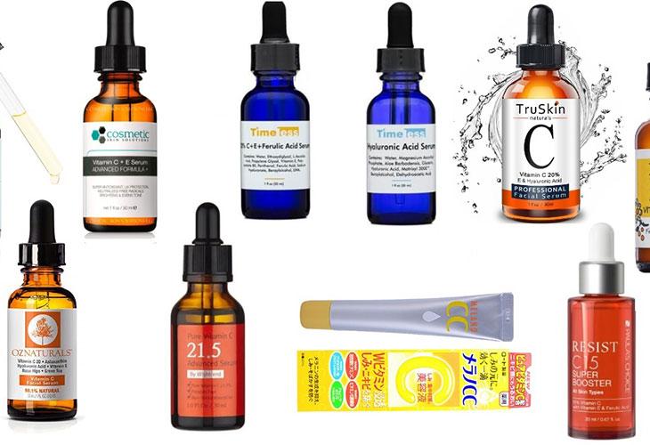 Những sản phẩm serum trị thâm mụn trên thị trường