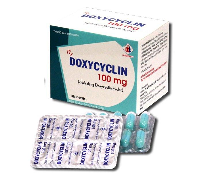 Doxycyclin 100mg được Sanford Guide khuyến cáo sử dụng trong phác đồ điều trị viêm phần phụ