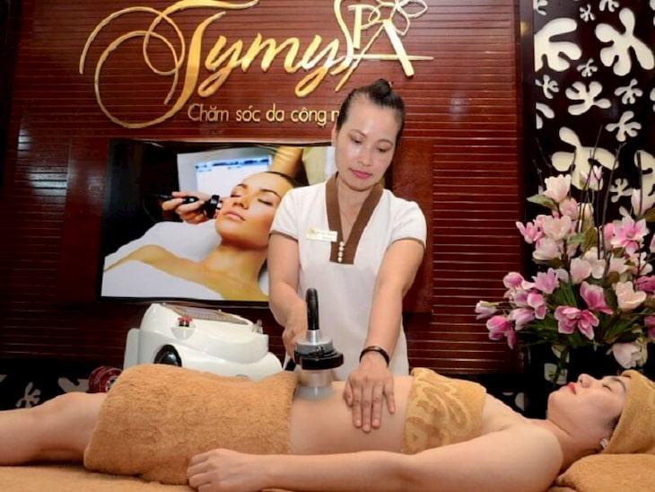 Spa trị mụn Nha Trang TyMy Spa nức tiếng tại Nha Trang
