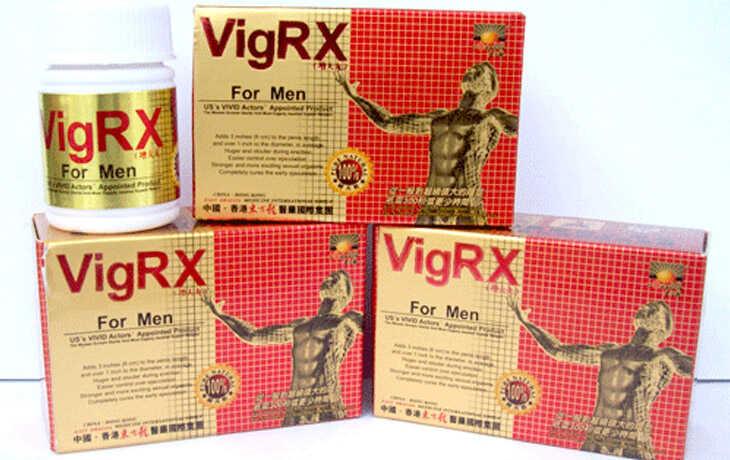 Cương dương bằng VigRx For Men hiệu quả, nhanh chóng