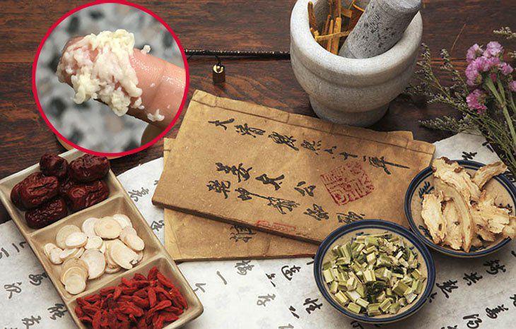 Các bài thuốc Đông y cũng được sử dụng để trị huyết trắng bệnh lý