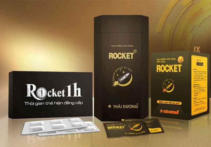 Rocket 1H được nhiều chuyên gia đánh giá cao về công dụng nhanh chóng trong việc trị liệt dương