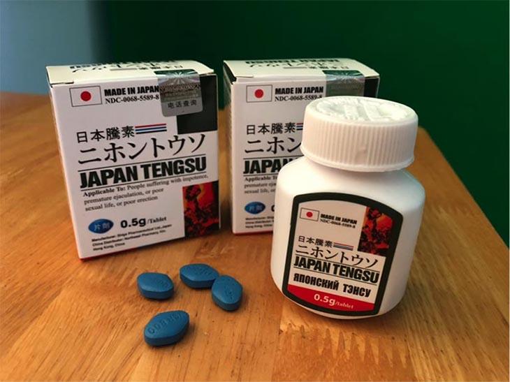 Thuốc trị liệt dương Japan Tengsu - chất lượng hàng đầu đến từ Nhật Bản